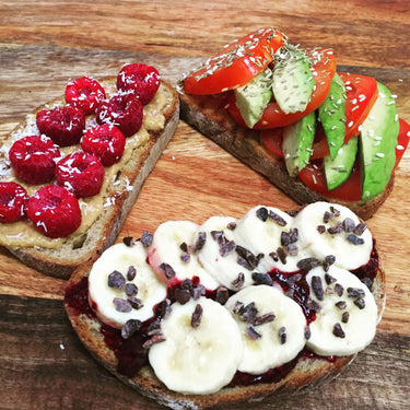 Vegan Toast, Three Ways