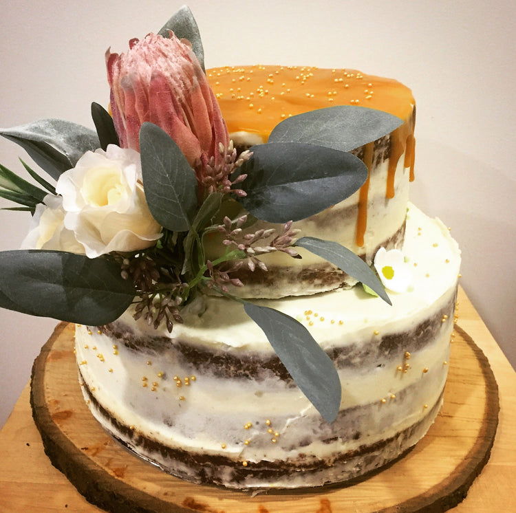 Carrot Cake with Vegan Cream Cheese Icing