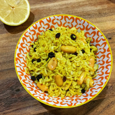 Lemon and Roasted Peanut Basmati