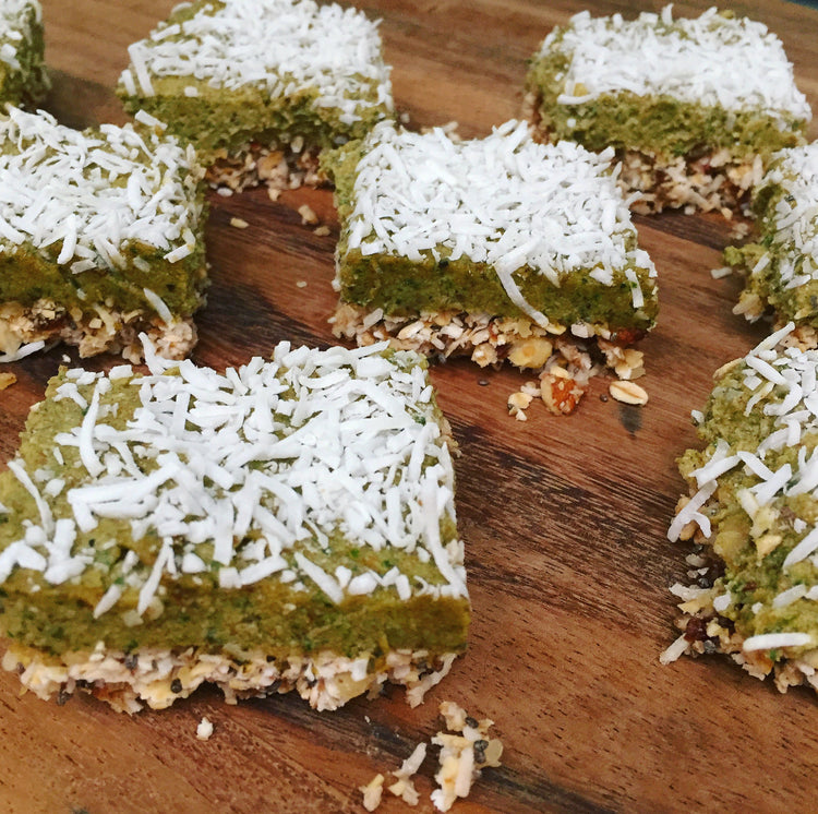 No Bake Lime and Matcha Tart