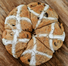 Pull Apart Hot Cross Buns