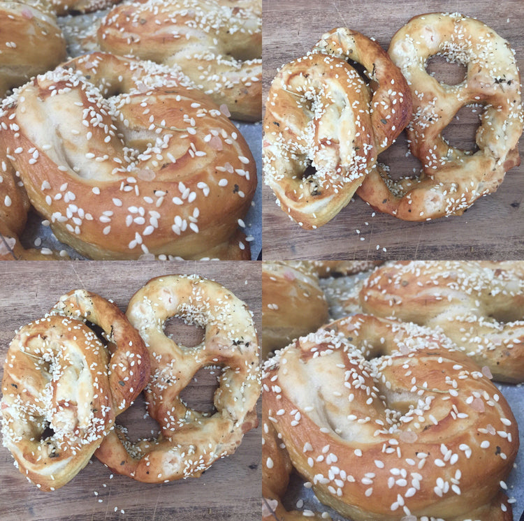 Soft and Salty Pretzels