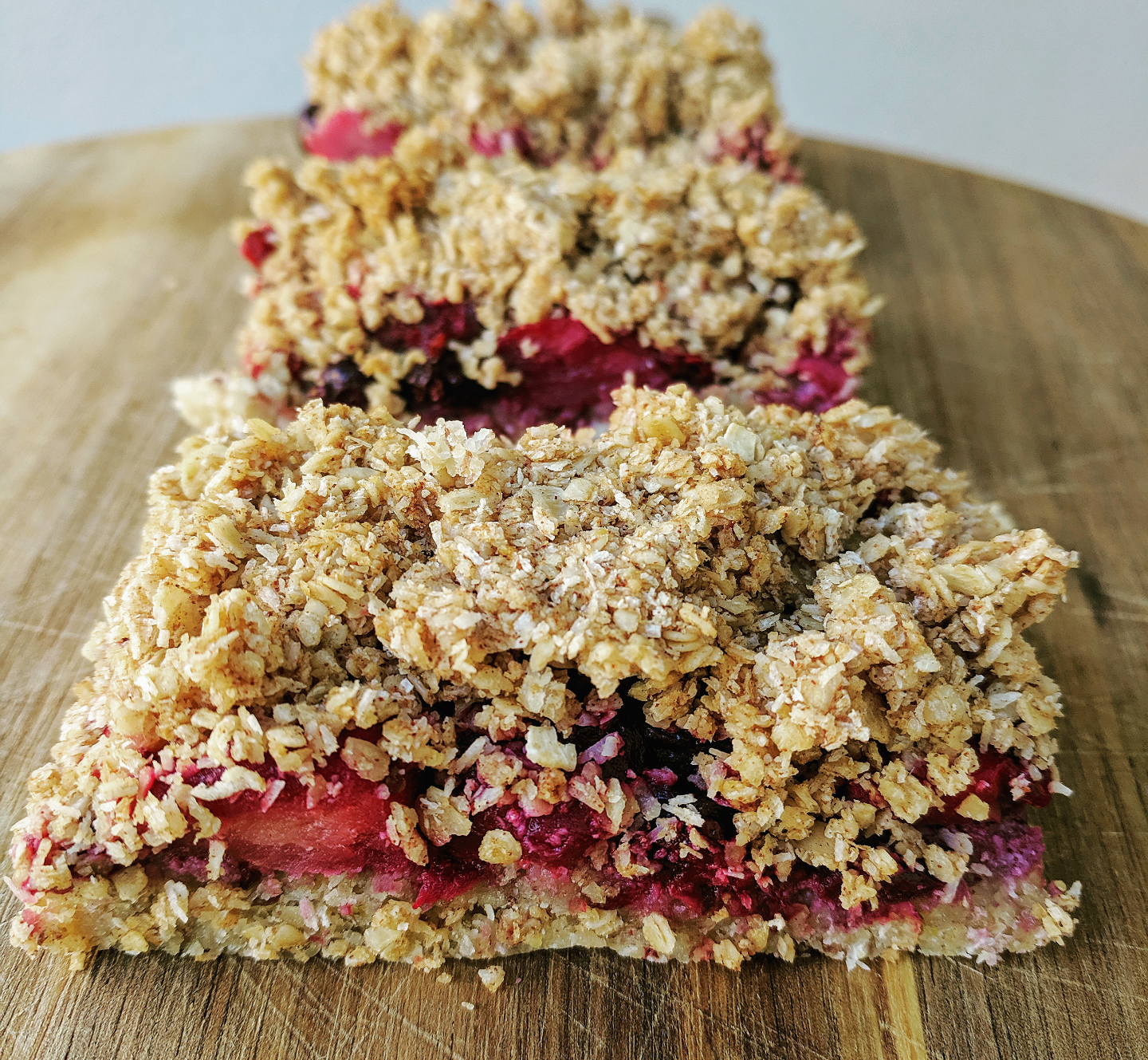 Healthy Berry Slice