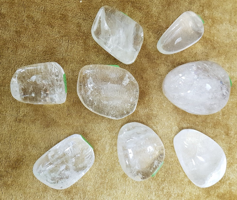 Tumbled Stone - Clear Quartz