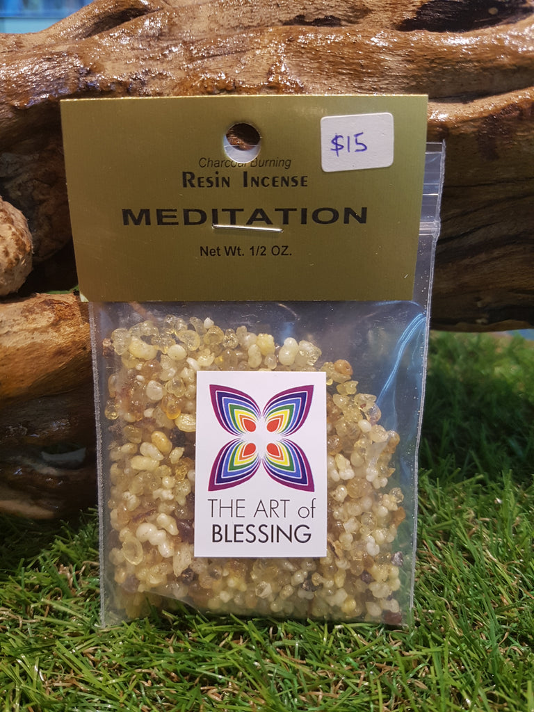 Incense - Meditation Resin