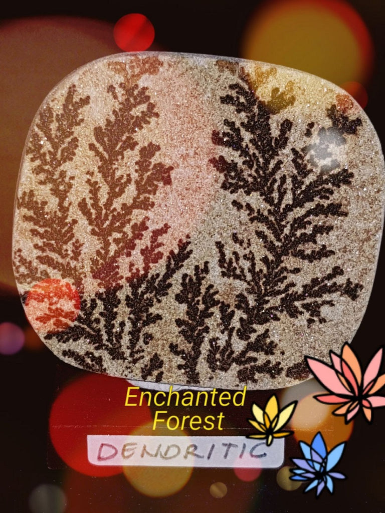 Divine Art - Enchanted Forest - Dendritic Fossil