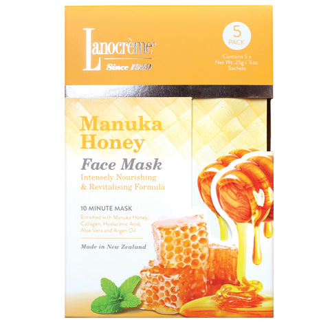 Manuka Honey Face Mask  - 5 pack