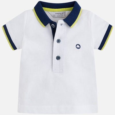 Mayoral, MAYORAL BABY BOYS SHORT SLEEVE POLO - James & Olive