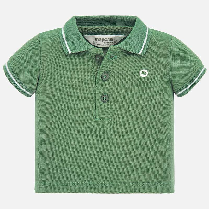 MAYORAL BABY BOYS BASIC SHORT SLEEVE POLO