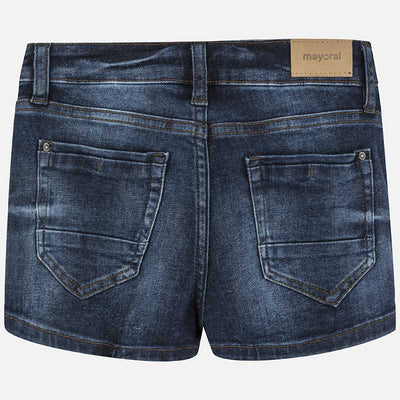 MAYORAL TWEEN GIRLS DENIM SHORTS