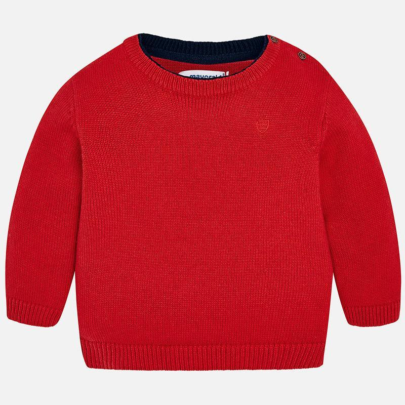 Mayoral, MAYORAL BABY BOY CREW NECK SWEATER - James & Olive