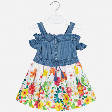 MAYORAL GIRLS DENIM DRESS