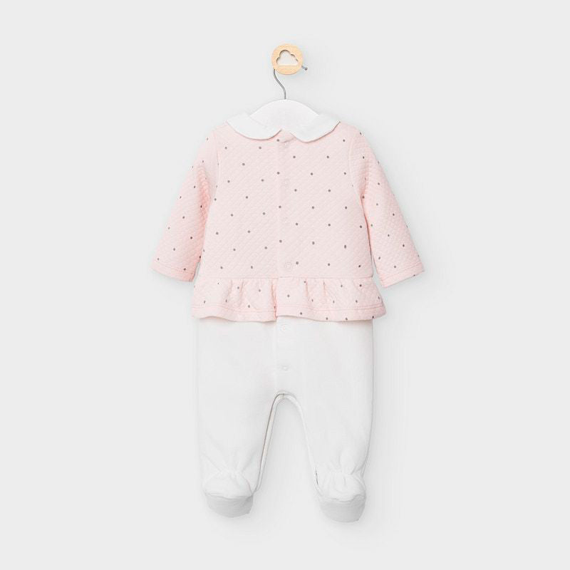 MAYORAL BABY GIRL QUILTED ONESIE