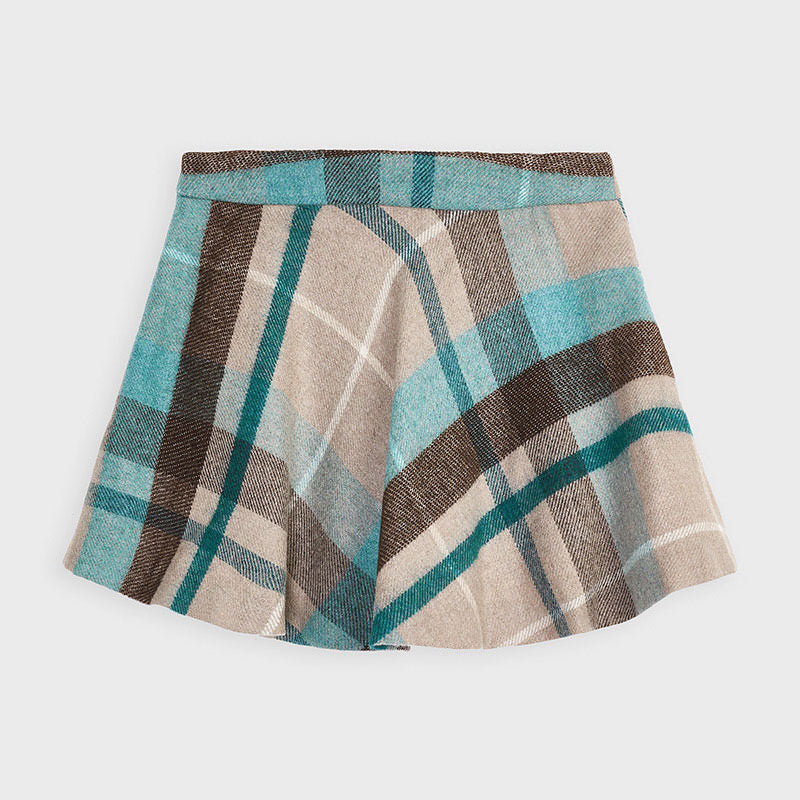 MAYORAL GIRLS PLAID SKIRT