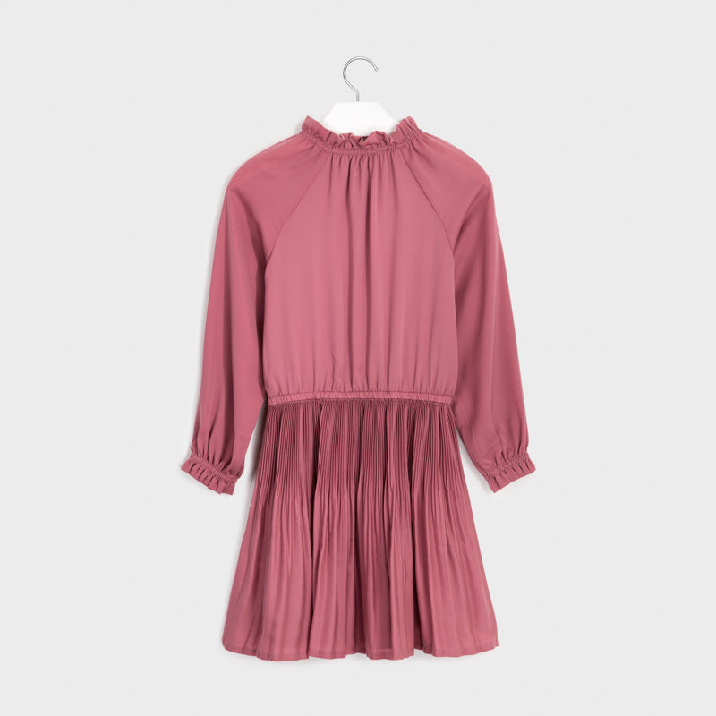 MAYORAL TWEEN GIRL STAIN PLEATED DRESS