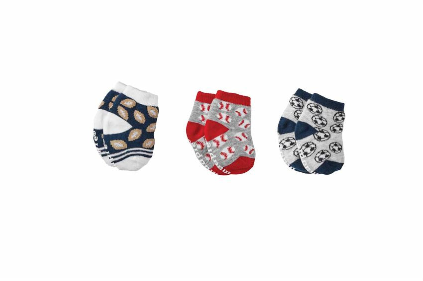 BABY BOY NEWBORN SPORTS SOCKS