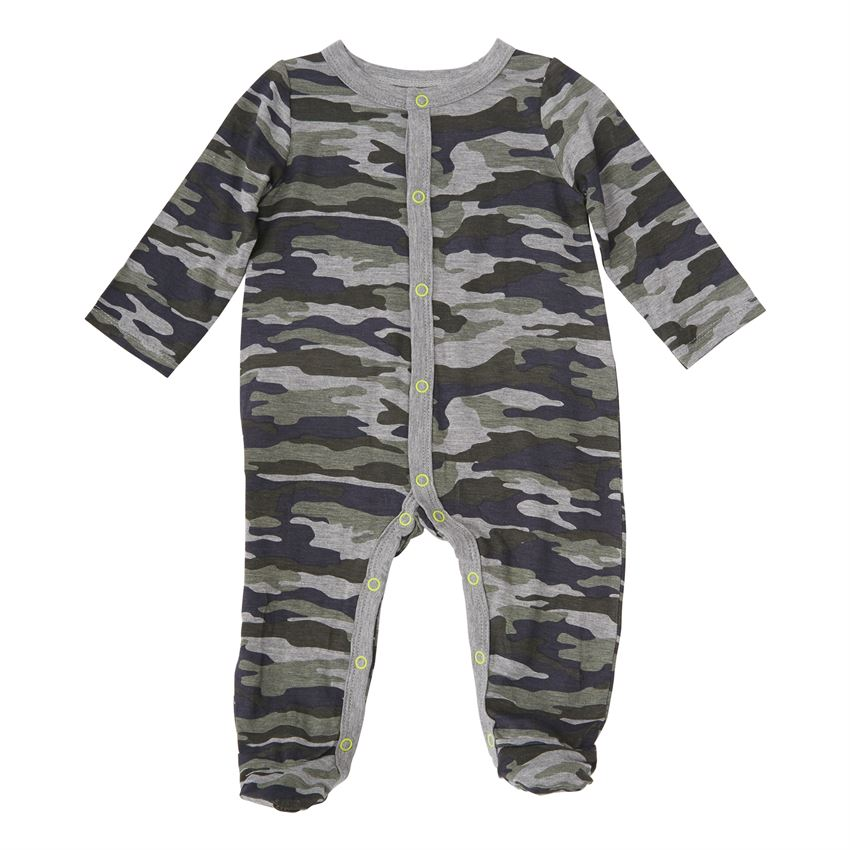 Mud Pie, MUD PIE BABY BOYS CAMO SLEEPER - James & Olive