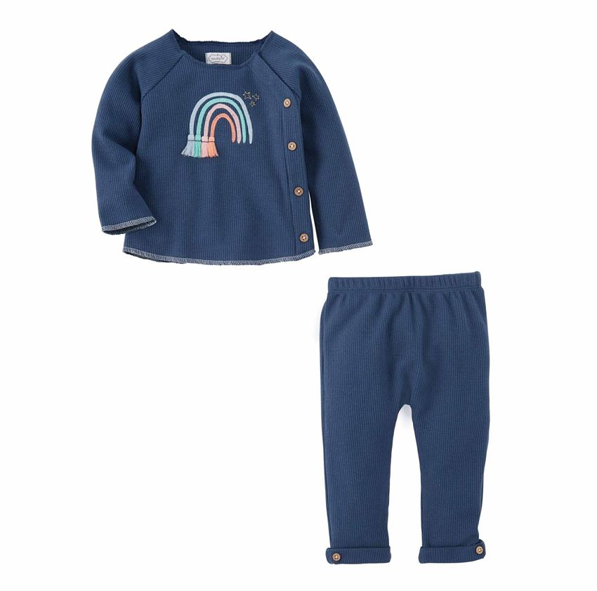 BABY GIRL RAINBOW 2 PIECE SET