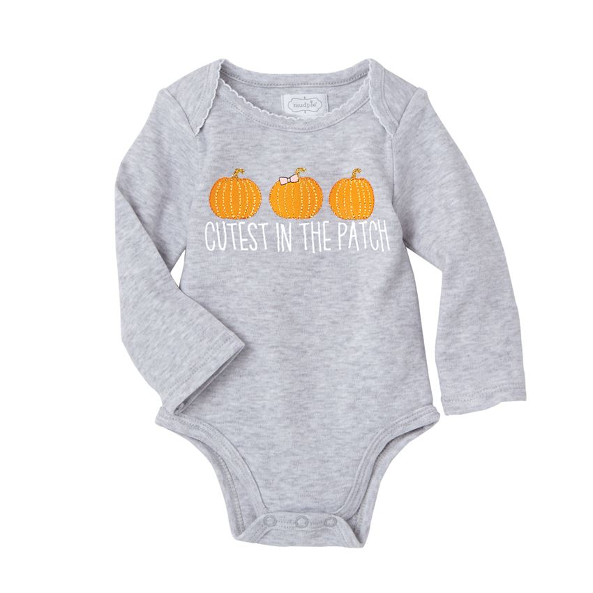 MUD PIE BABY PUMPKIN CRAWLERS