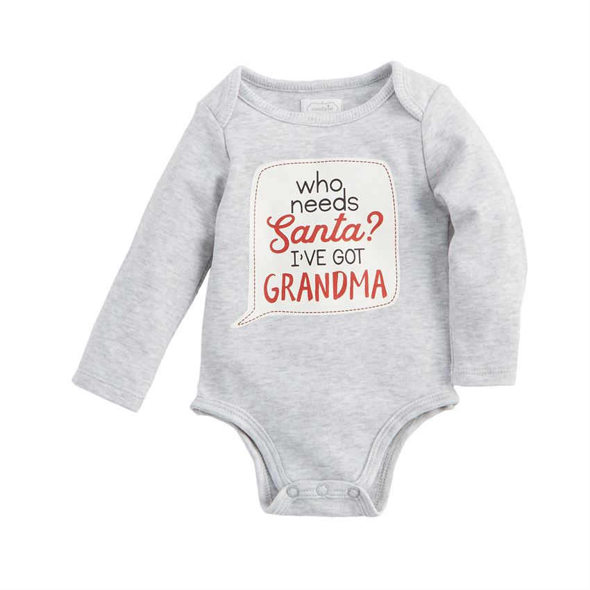 MUD PIE GRANDMA CHRISTMAS CRAWLERS
