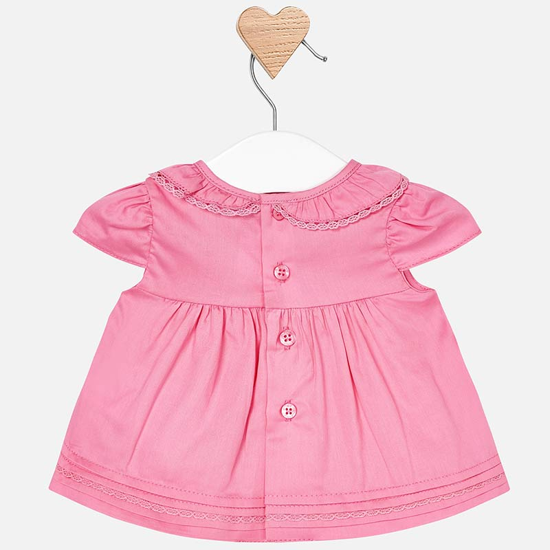 MAYORAL BABY GIRL RUFFLE SHIRT
