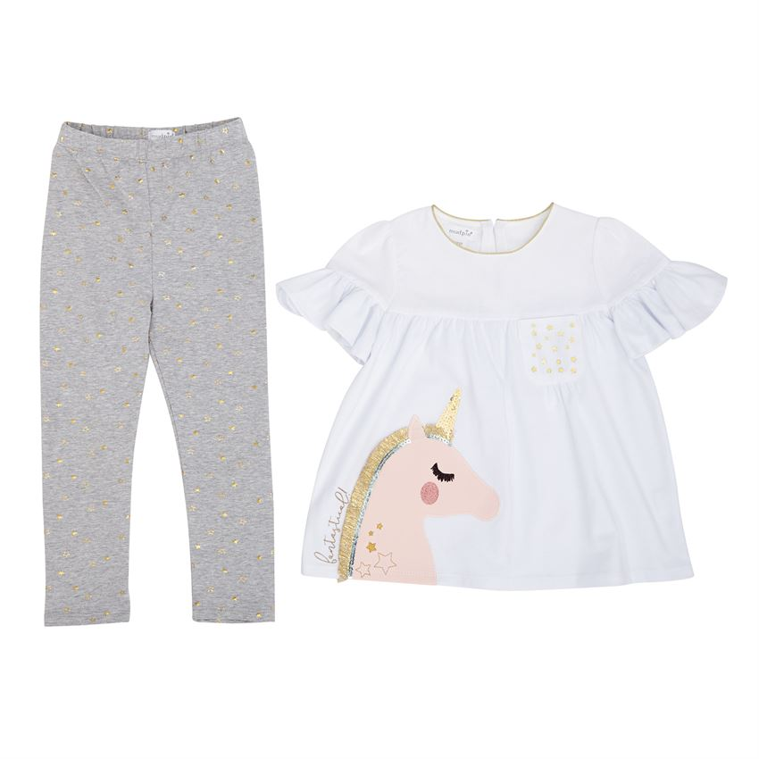 Mud Pie, MUD PIE UNICORN LEGGING SET - James & Olive