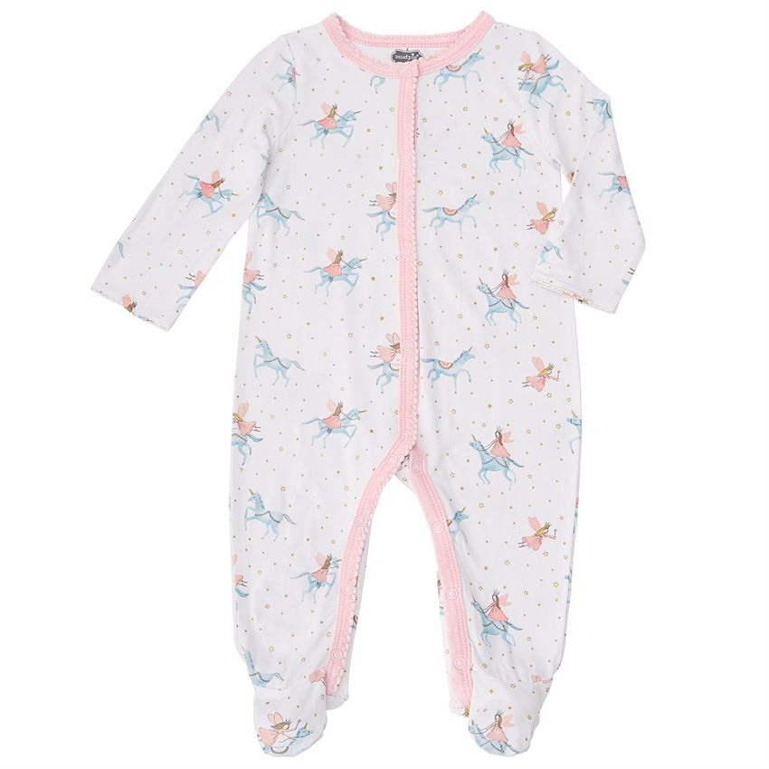 Mud Pie, MUD PIE BABY GIRLS UNICORN SLEEPER - James & Olive
