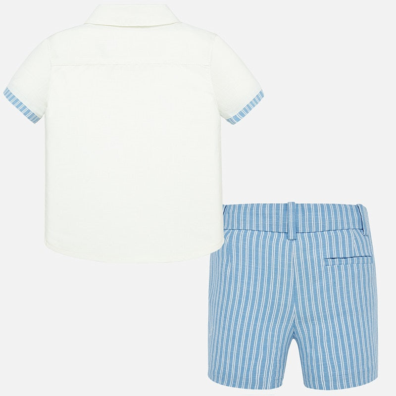 MAYORAL BABY BOYS LINEN SHORT SET