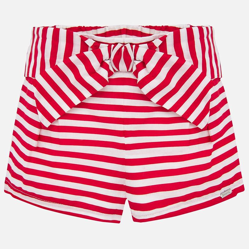 MAYORAL BABY GIRLS STRIPED SHORTS