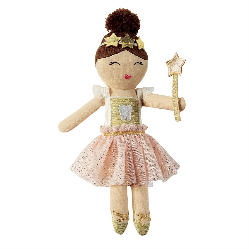 MUD PIE BALLERINA TOOTH FAIRY DOLL