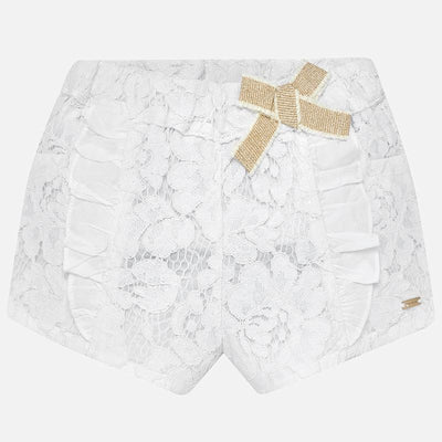 MAYORAL BABY GIRL LACE SHORTS