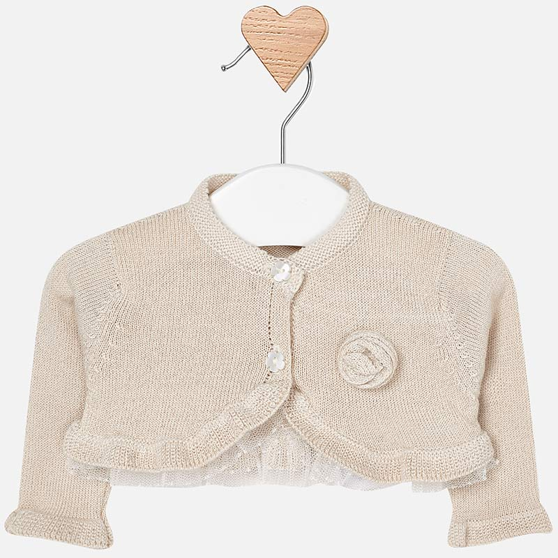 MAYORAL BABY GIRL KNIT CARDIGAN