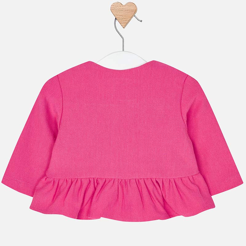 MAYORAL BABY GIRL RUFFLE KNIT JACKET