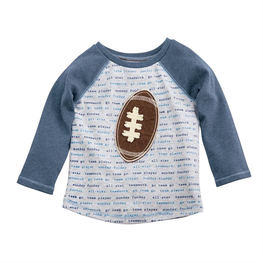 MUD PIE BOYS FOOTBALL TEE