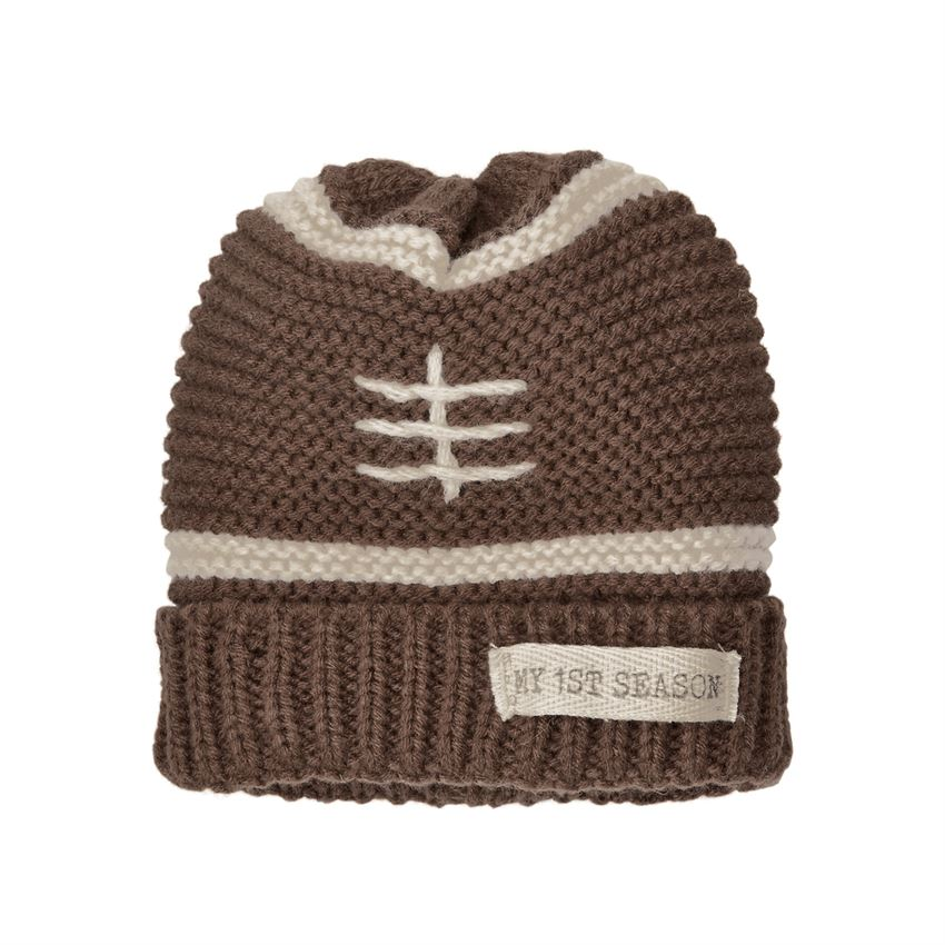 MUD PIE BABY BOYS FOOTBALL KNIT HAT