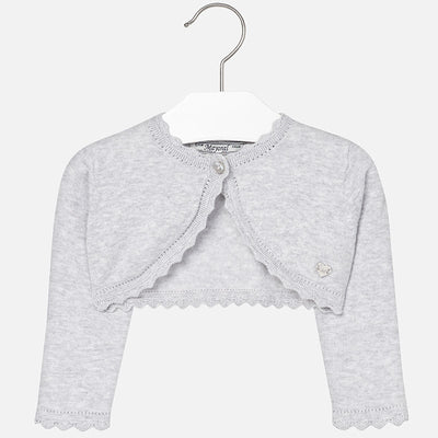 Mayoral, MAYORAL BABY GIRLS BASIC KNIT CARDIGAN - James & Olive