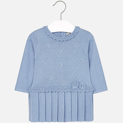 Mayoral, MAYORAL BABY GIRL KNIT DRESS - James & Olive