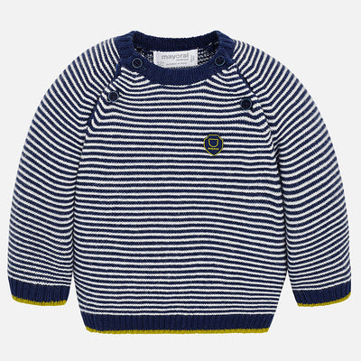 Mayoral, MAYORAL BABY BOY STRIPED SWEATER - James & Olive