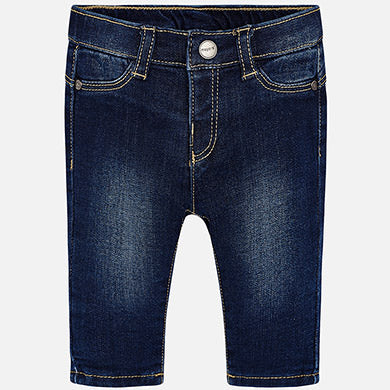 Mayoral, MAYORAL BABY GIRL DENIM TROUSERS - James & Olive