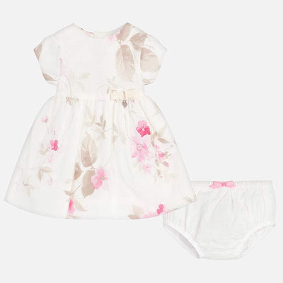 MAYORAL BABY GIRLS FLOWER PRINT DRESS