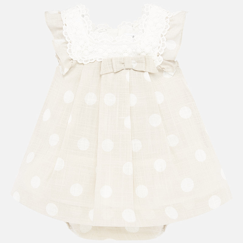 MAYORAL BABY GIRL POLKA DOT DRESS