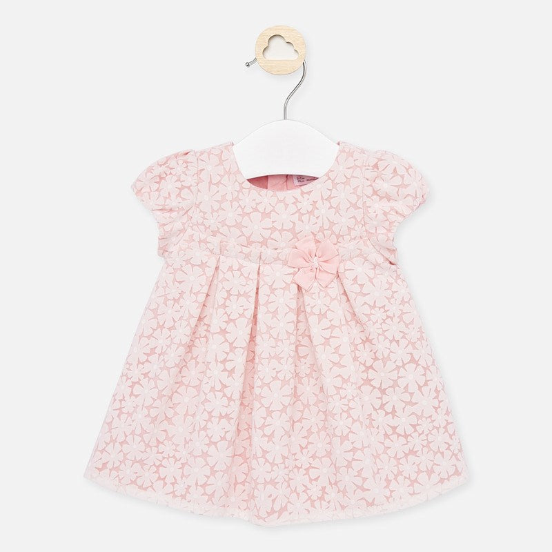MAYORAL BABY GIRL SHORT SLEEVED DRESS