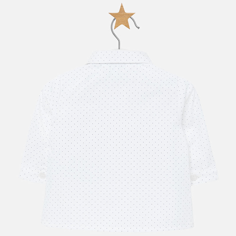 MAYORAL BABY BOY LONG SLEEVE DRESS SHIRT