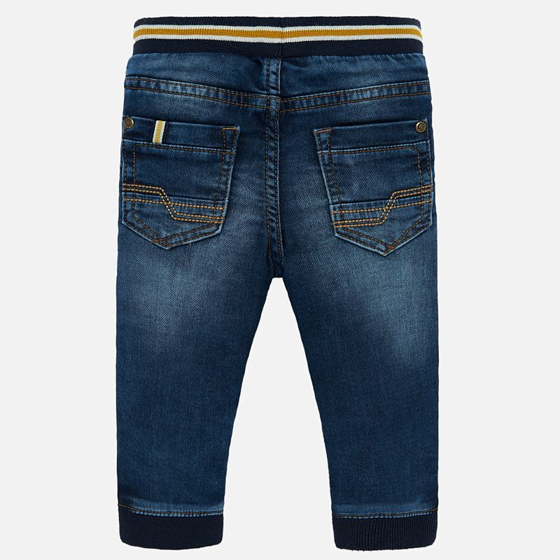 MAYORAL BABY BOY DENIM JOGGERS