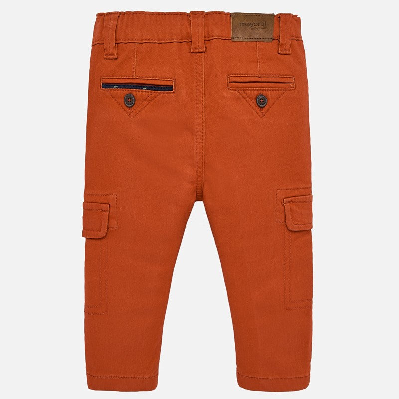 MAYORAL BABY BOY TWILL CARGO PANTS-FINAL SALE