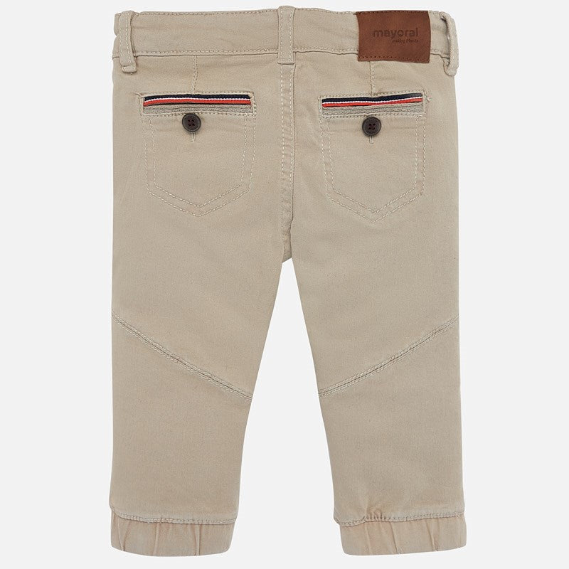 MAYORAL BABY BOY TWILL JOGGERS-FINAL SALE