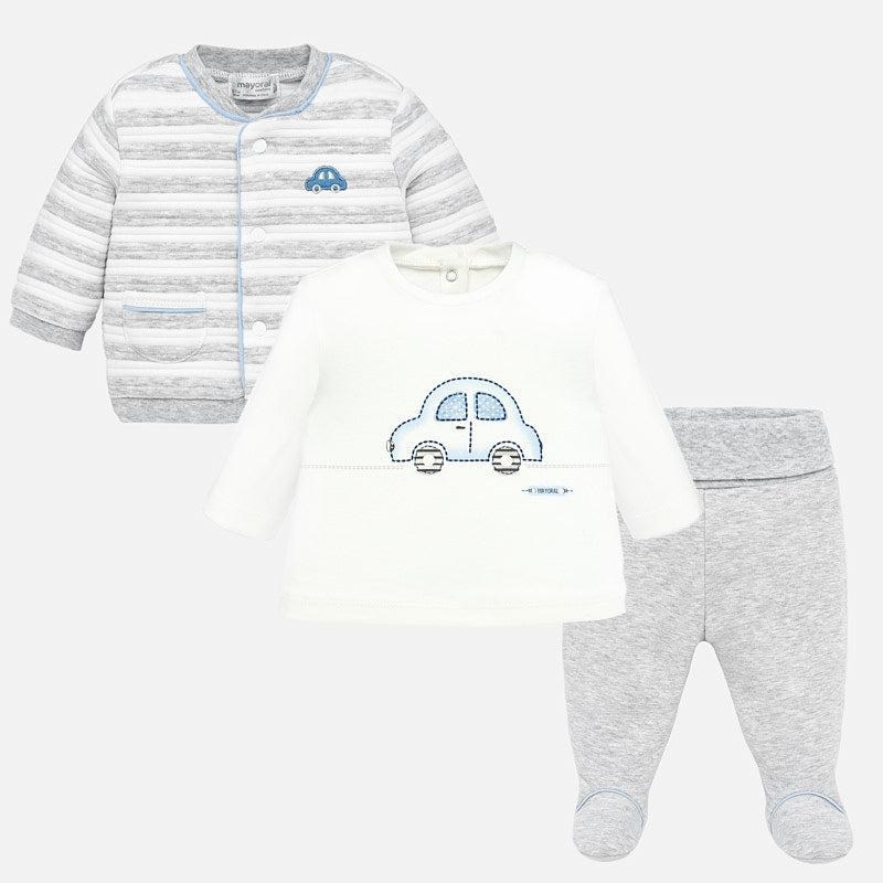 MAYORAL BABY BOY 3 PIECE TRACKSUIT