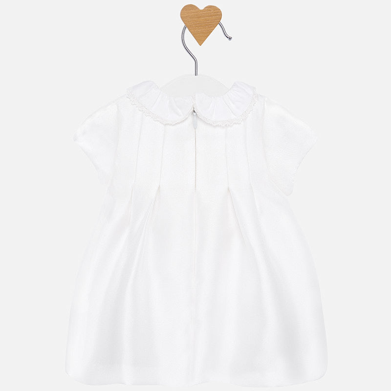 MAYORAL BABY GIRL TWILL DRESS-FINAL SALE