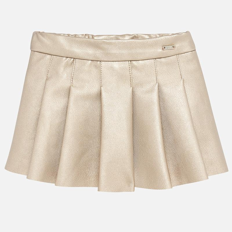 MAYORAL BABY GIRL FAUX LEATHER SKIRT