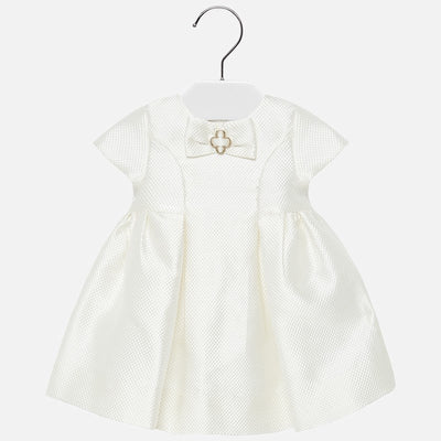 MAYORAL BABY GIRL EMBOSSED DRESS